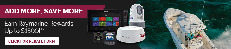 Earn Raymarine Rewards Up To $1500
