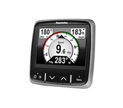 i70s Instrument Display raymarine i70s wind/depth/speed system pack t70226