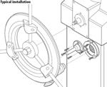 RayMarine E15017 Raymarine Bulkhead Fitting Kit E15017