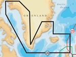 """""""Navionics XL9 20XG - Greenland & Iceland Brand New Includes One Year Warranty The Navionics XL9 20XG 2-dimensional Gold marine charts contains information of Greenland and Iceland including Greenland West, Greenland South and Iceland from Northumberland Oe to Kap Farvel to Nathorst Fjord"""