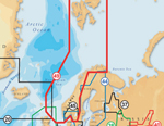 """""""Navionics XL9 49XG - Norway Brand New Includes One Year Warranty, Product # 49XG/CF (CF Card) The Navionics XL9 49XG 2-dimensional Gold marine charts contains information of Norway including Svalbard Islands, Shetland Islands, Sweden West from Stromstad to Varberg"""
